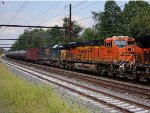 BNSF 6655 second on K044